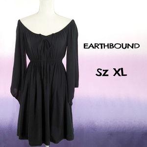 Sz XL EARTHBOUND Peasant Dress